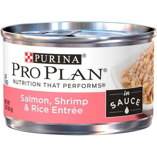 Pro Plan Cat Can Salmon Shrimp & Rice 3oz 24ct