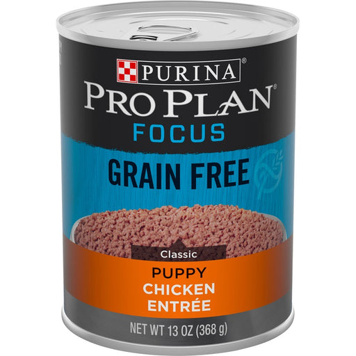 Pro Plan Puppy Can Grain Free Chicken 13oz 12ct