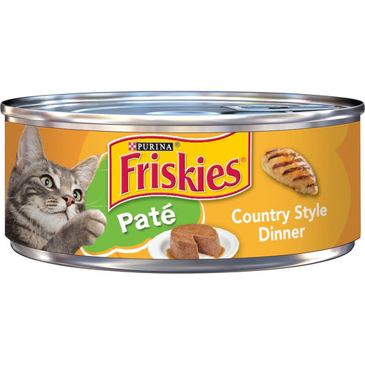 Friskies Cat Can Pate Country Style 5oz 24ct