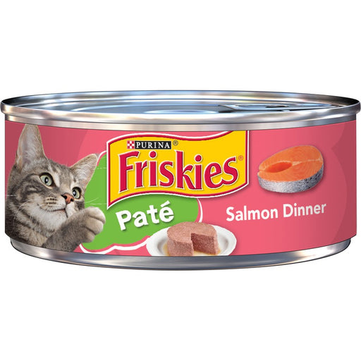 Friskies Cat Can Pate Salmon 5oz 24ct