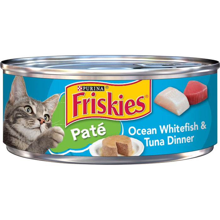 Friskies Cat Can Pate Ocean Whitefish & Tuna 5oz 24ct