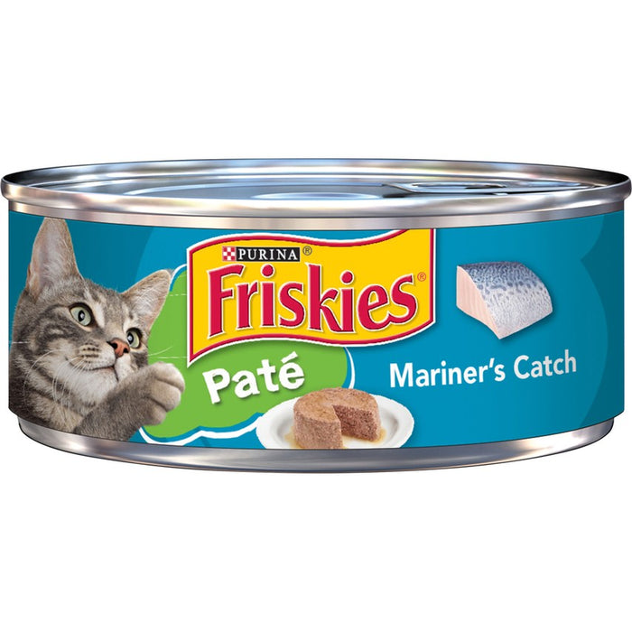 Friskies Cat Can Pate Mariner Catch 5oz 24ct