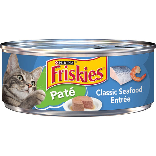 Friskies Cat Can Pate Seafood 5oz 24ct