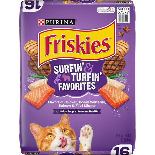 Friskies Surf & Turf Favorites 16lb