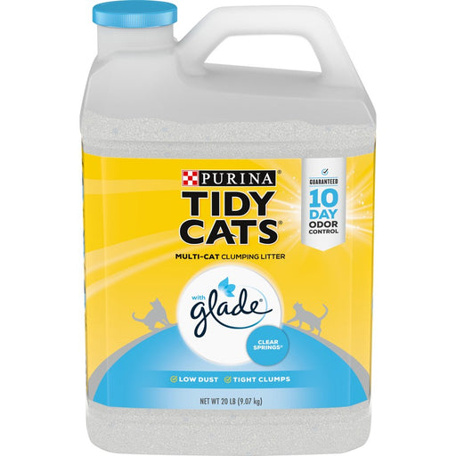 Cat Litter Tidy Cats Clumping Glade Springs 20lb