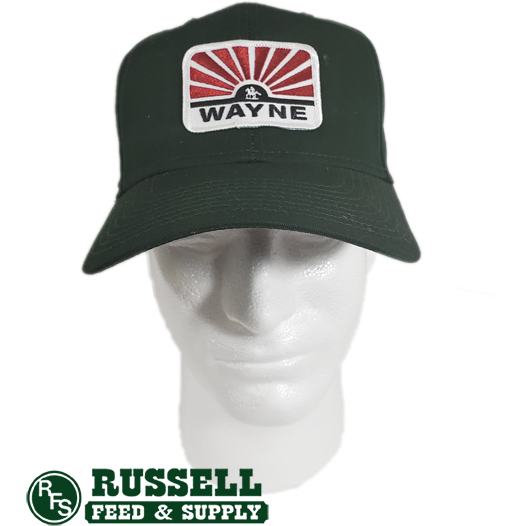 Wayne Hunter Green Trucker