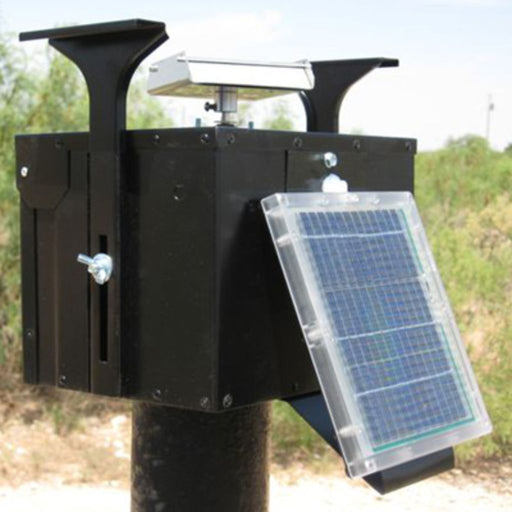 12 Volt Unit w/Motor, Gate Plate, THE-TIMER & Solar Panel