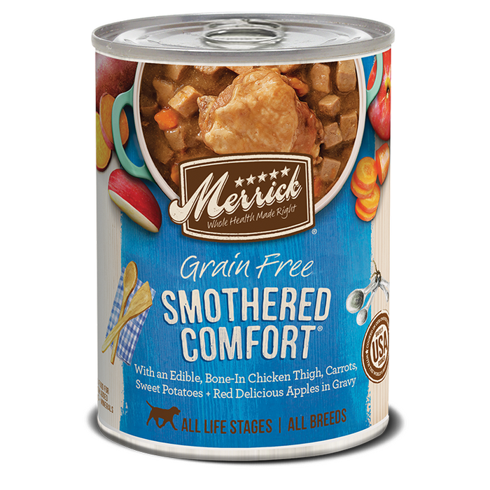 Merrick Can Grain Free Smothered Comfort 13oz 12ct