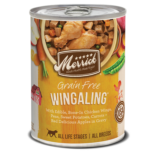 Merrick Can Grain Free Wingaling   13oz 12ct