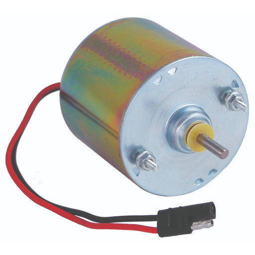 Silver 6 Volt Motor 1/4 in. Shaft