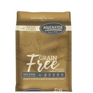 Muenster Grain Free with Chicken & Turkey Dog Food