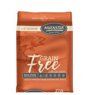 Muenster Grain Free with Salmon Dog Food