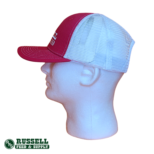 Russell Feed Bright Pink Snapback Hat