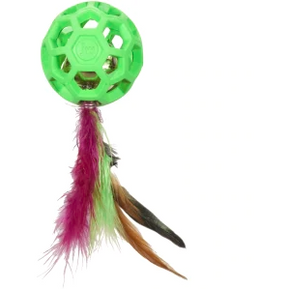 Cat Toy Feather Ball Bell