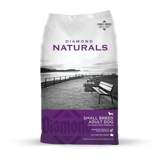 Diamond Naturals Chicken & Rice Small Breed Adult 18lb