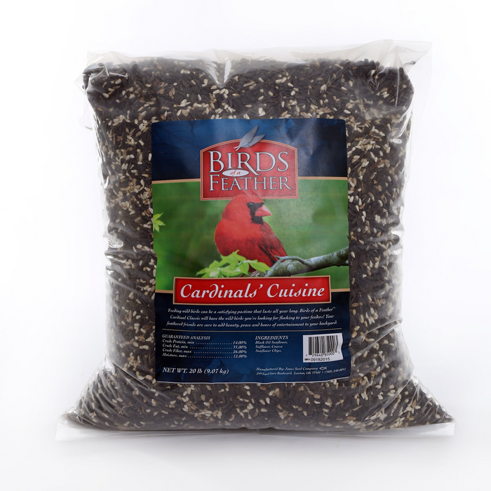 Birds of a Feather Cardinal Cuisine 4.5lb