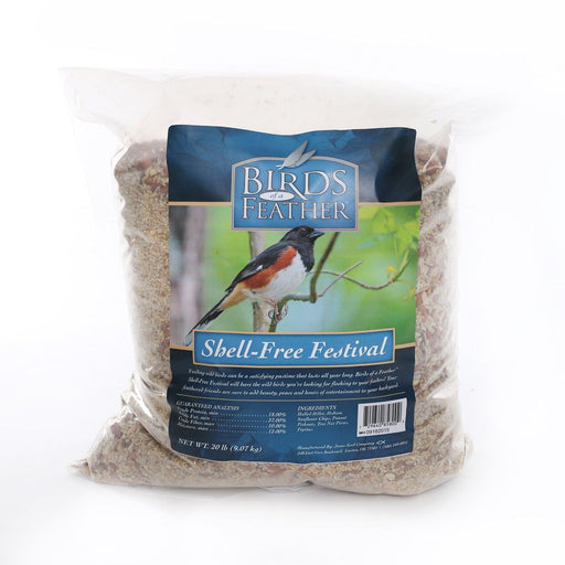 Birds of a Feather Wild Bird Shell Free Festival 20lb