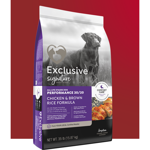 Exclusive Performance 30/20 Chicken & Brown Rice 35lb