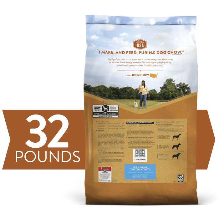 Purina Dog Chow Little Bites Small Dog 32lb