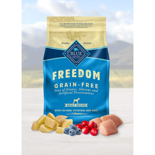 Blue Buffalo Freed Dog Adult Chicken Grain Free 24lb