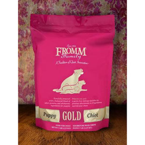 FROMM Puppy Gold Pink Bag