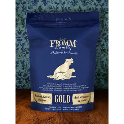 FROMM Dog Reduced Activity Senior Gold 33lb