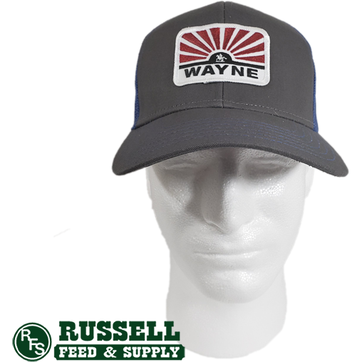 Wayne Gray & Blue Trucker Hat