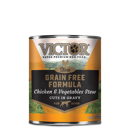Victor Grain Free Cuts In Gravy With Chicken And Vegetables Dog Food - Canned, 12/13.2 Oz. Cans