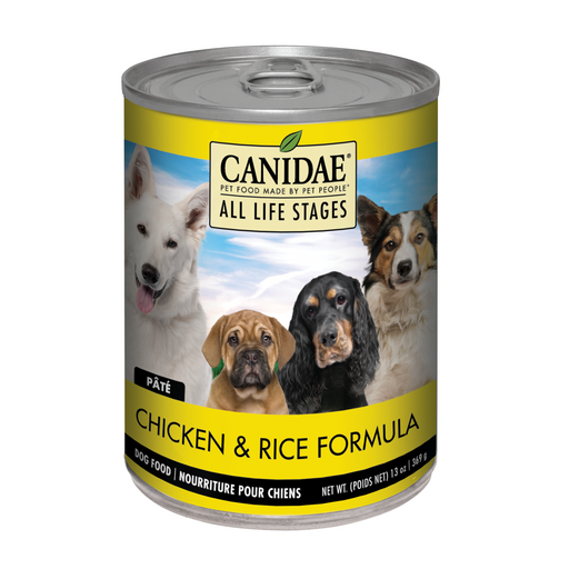 Canidae Dog Can Chicken & Rice 13oz 12ct