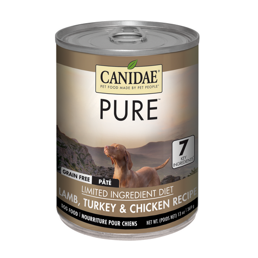 Canidae Dog Can Grain Free Lamb Turkey Chicken 13oz 12ct