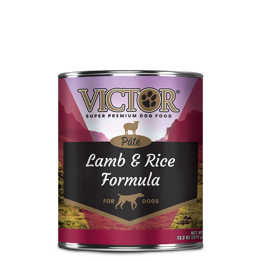 "Victor Lamb & Rice ""Pate"" Dog Food - Canned, 12/13.2 Oz. Cans"