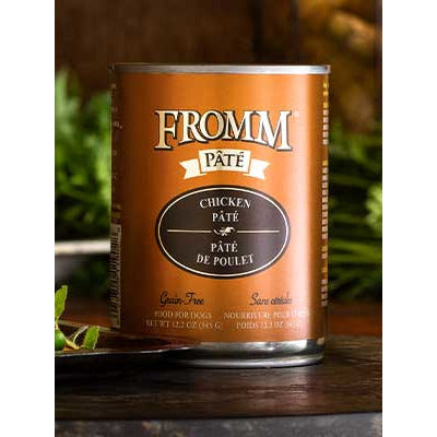 FROMM Can Dog Pate Grain Free Chicken 12oz 12ct