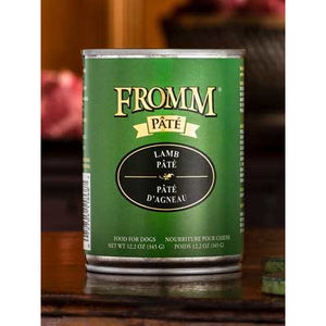 FROMM Can Dog Pate Grain Free Lamb 12oz 12ct