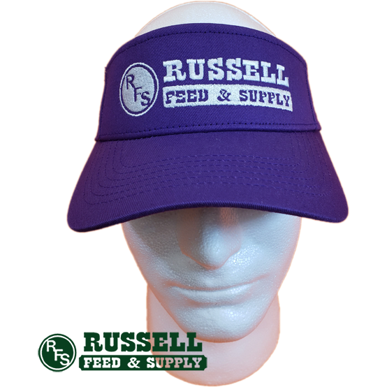Russell Feed Purple Visor