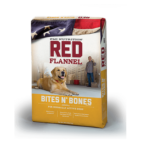 Red Flannel Bites N Bones 50lb