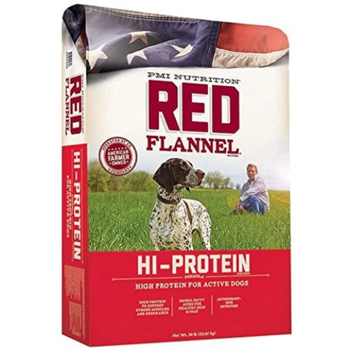 Red Flannel Hi-Protein 50 lb