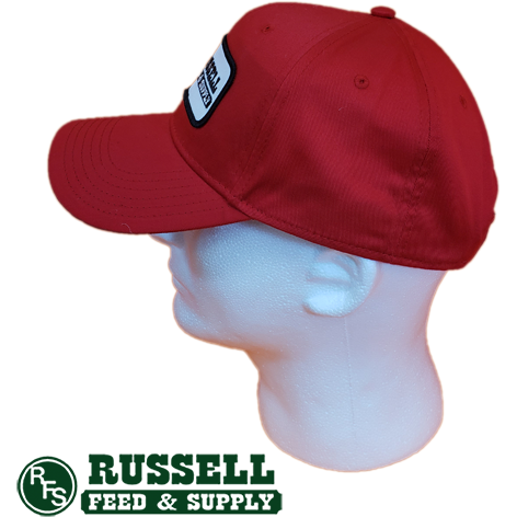 Russell Feed Purina Patch Red Baseball Cap