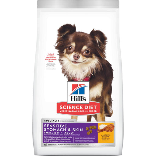 Hills Science Diet Dog Sensitive Stomach & Skin Toy Breed