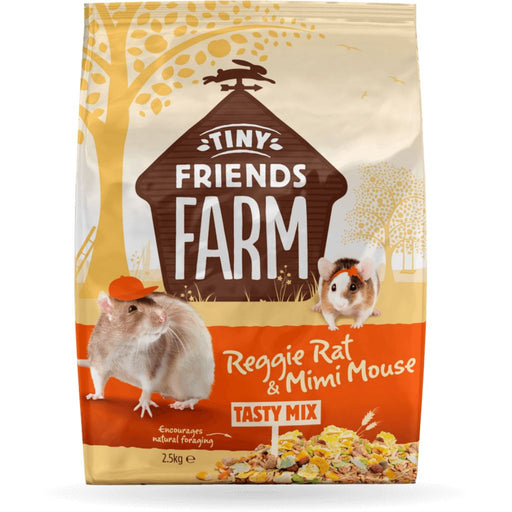 Supreme Tiny Friends Farm Reggie Rat & Mimi Mouse Food 2lb