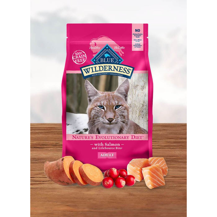 Blue Buffalo Wilderness Cat Salmon