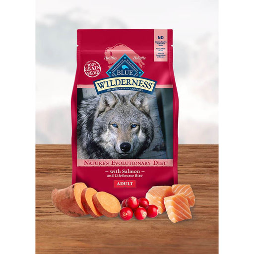 Blue Buffalo Wilderness Dog Salmon Grain Free