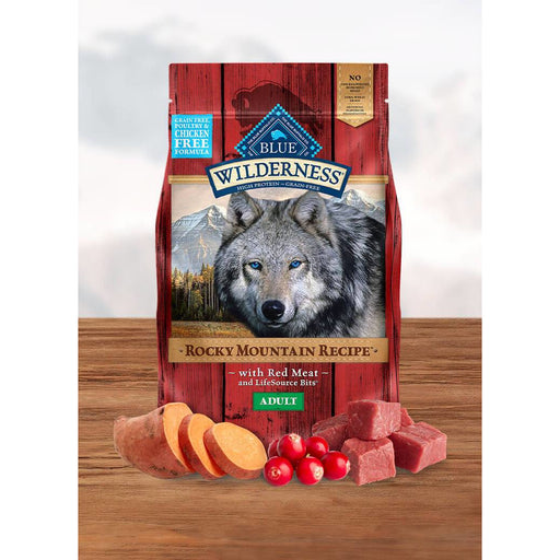 Blue Buffalo Wilderness Dog Adult Red Meat 22lb