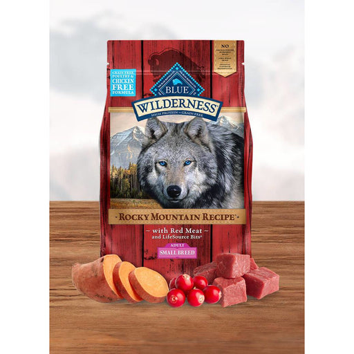 Blue Buffalo Wilderness Dog Adult Small Breed Red Meat 4lb