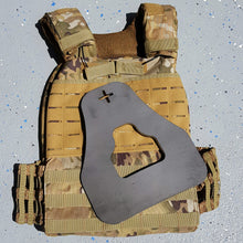 "Load image into Gallery viewer, ""RX+P""  Curved Weight Vest Plates"