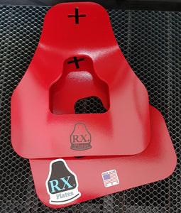 """RX+P""  Curved Weight Vest Plates"
