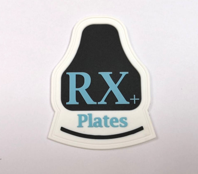 RX+Plates Logo PVC Patch