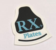 Load image into Gallery viewer, RX+Plates Logo PVC Patch