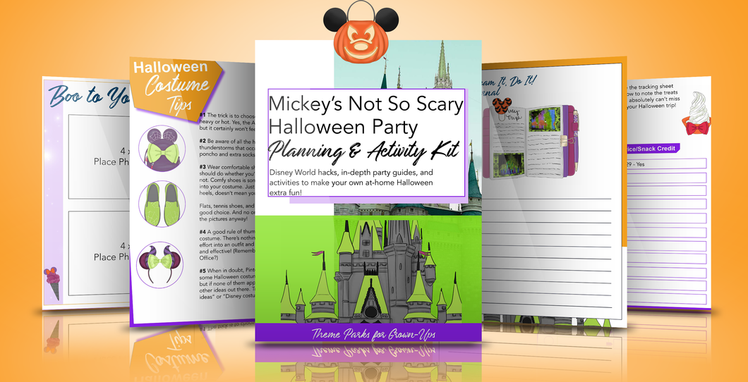 Mickey's Not So Scary Halloween Party Planner & Activity Kit (Sale)
