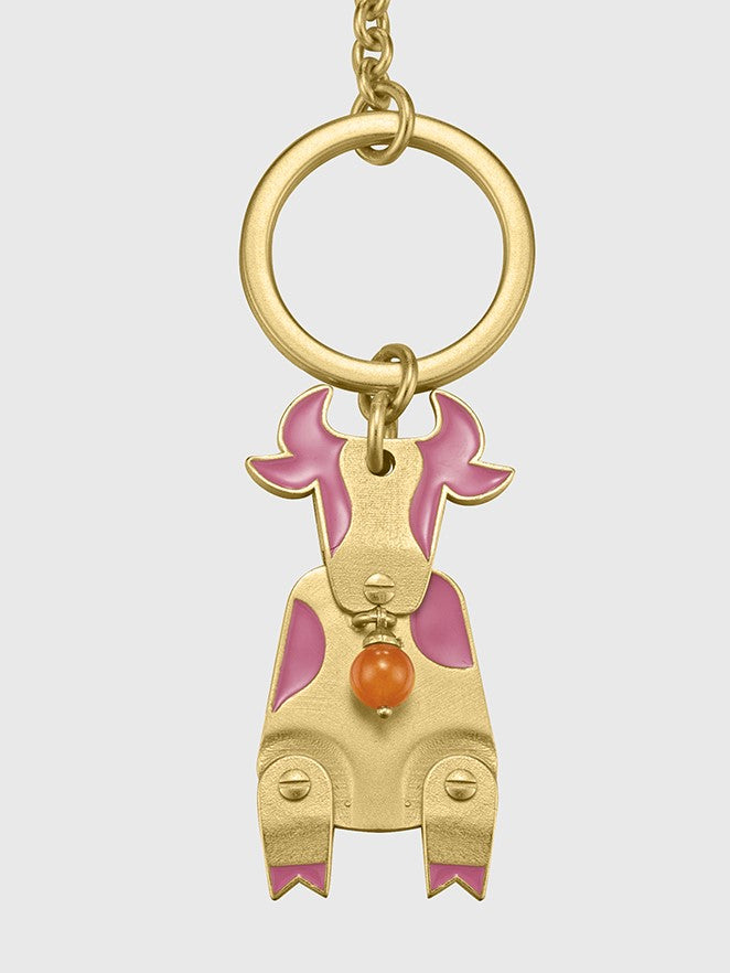 Simple Ox Keychain