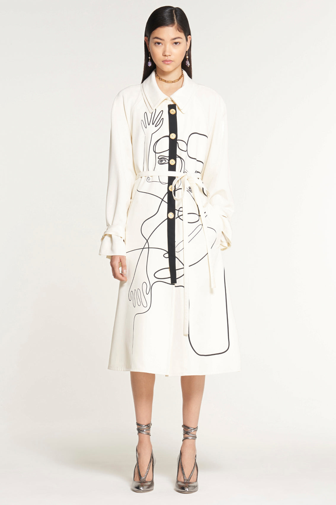 The Figures Coat Dress